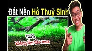 Cách Tạo Đất Nền Cho Hồ Thủy Sinh Và Hồ Cá Miễn Phí 🐠 Ryan Nguyen_The Fish Lover