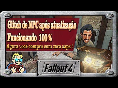 Fallout 4 - Glitch do NPC para compras ainda continua