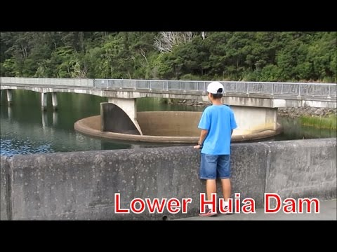 Auckland Travel Guide, Lower Huia Dam,  Part 2/2 Huia Dam