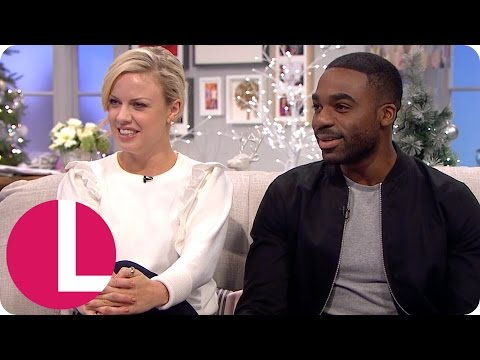 Strictly's Ore Oduba and Joanne Clifton Have Their Fingers Crossed for the Semi-Finals | Lorraine