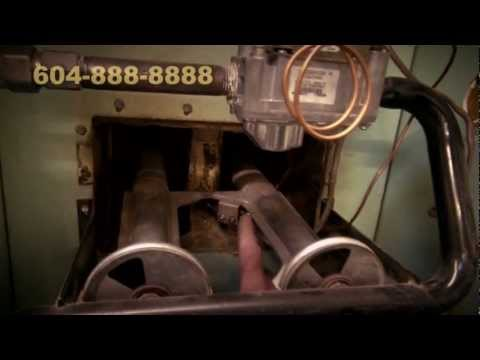 Old Gas Heater Repair