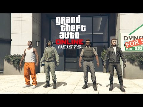 GTA 5 Online PS4 Multiplayer Gameplay - GTA 5 Heist - The Prison Break Finale