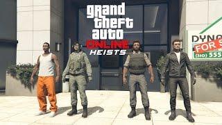 GTA 5 Online PS4 Multiplayer Gameplay - GTA 5 Heist - The Prison Break Finale
