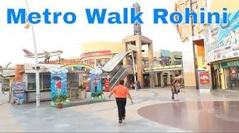 Biggest Amusement park (metrowalk) near Rithala Metro Station, Rohini, New Delhi