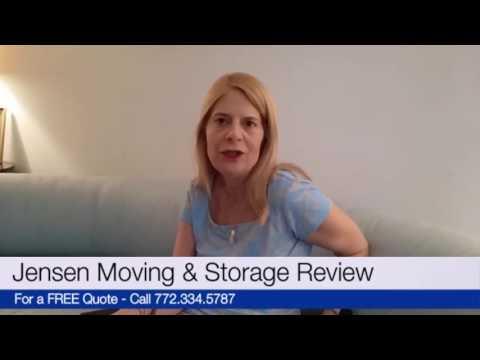 Jensen Moving & Storage 5 Star Reviews by Susan - Jensen Beach FL