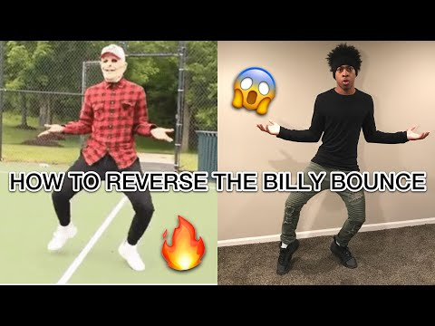 HOW TO REVERSE THE BILLY BOUNCE DANCE | OFFICIAL TUTORIAL