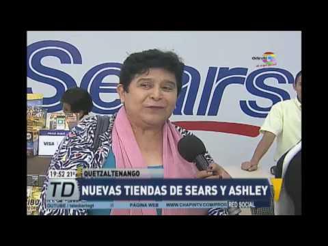 Nuevas tiendas de Sears y Ashley en Quetzaltenango