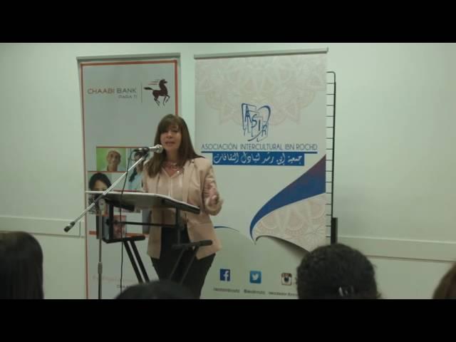 Maite Selva en el homenaje del día internacional de la mujer