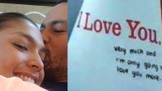 Andrea Torres BINIGYAN ng LOVE JOURNAL si Derek Ramsay..GRAB...