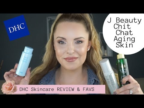 DHC SKINCARE REVIEW & FAVORITES || Benefits of Olive Oil, J Beauty