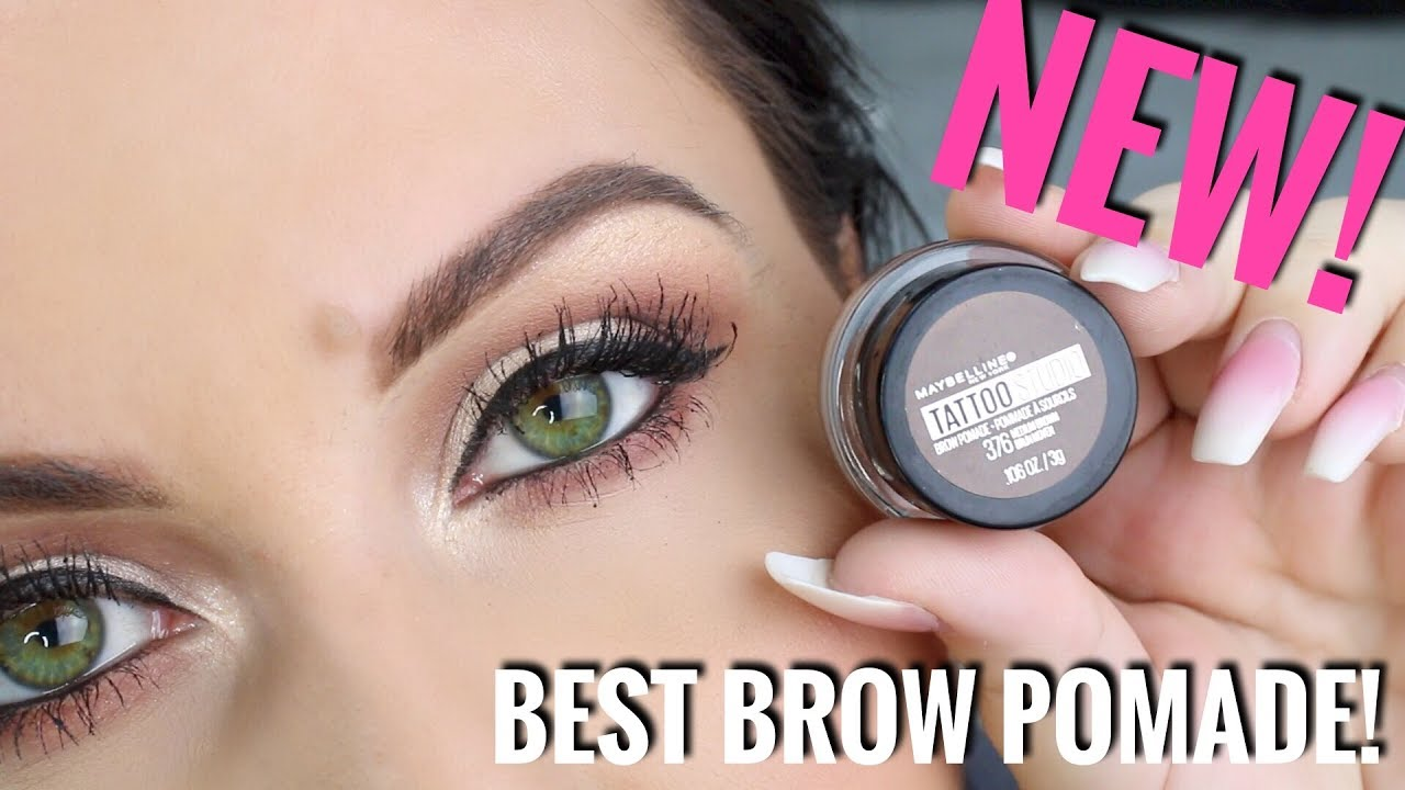 faccb61dd5b New Maybelline Tattoostudio Brow Pomade Amazing Youtube
