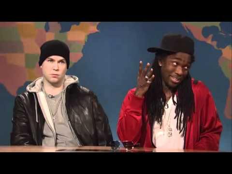 Eminem & Lil Wayne Skit On SNL!