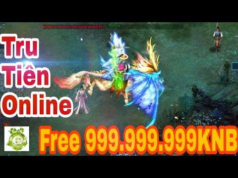 Web Game Lậu Tru Tiên Online 2019 | Free 999.999.999KNB – Nâng Đã Tay Không Lo Hết Tiền