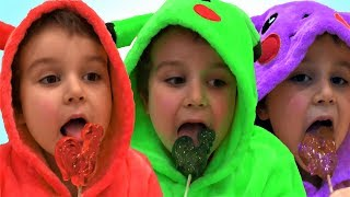 Learn Colors with Ice Cream & Finger family song nursery rhymes. Fun learning colors for kids