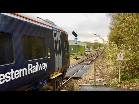 Trains Through Templecombe On Strike Day Thursday 9th November 2017