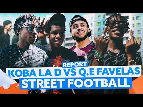 Koba LaD VS Q.E Favelas : Street Football !