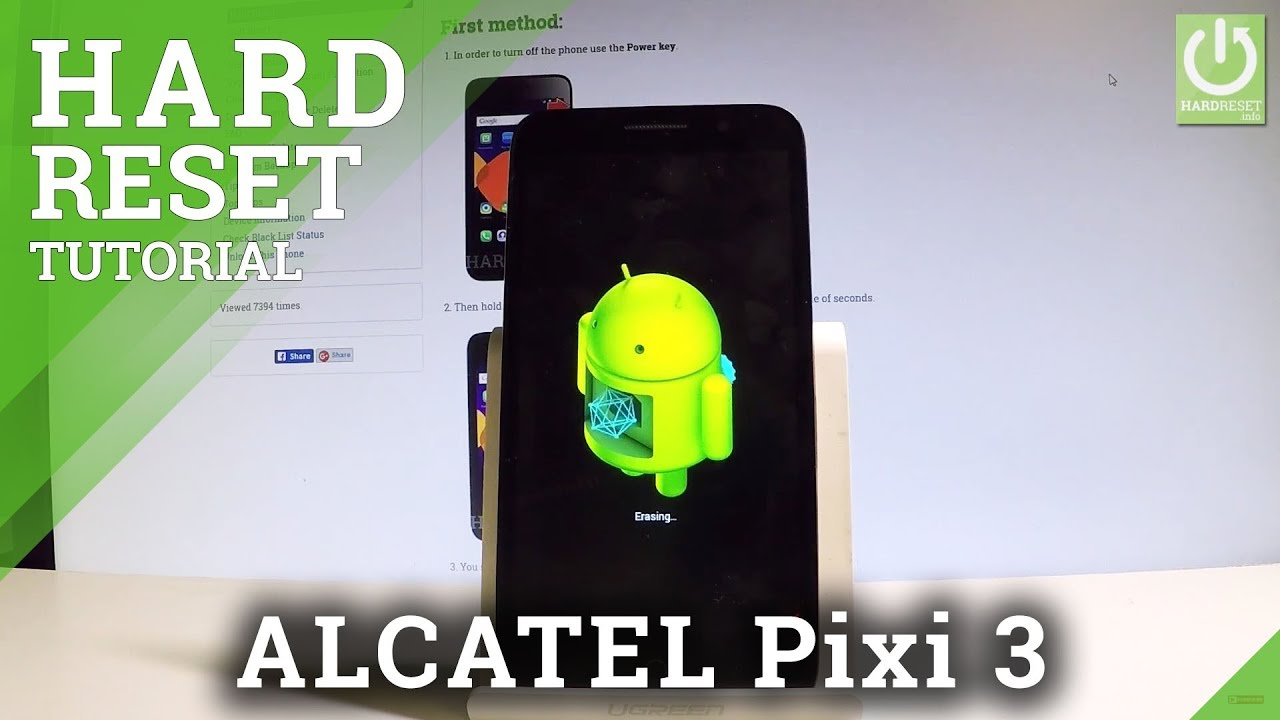 Hard Reset ALCATEL 4013X One Touch Pixi 3 - HardReset info
