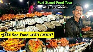 Puri FAMOUS Sea Food After Lockdown🔥 Tried Best Sea Food In Puri Puri Street Food Puri Tour Plan