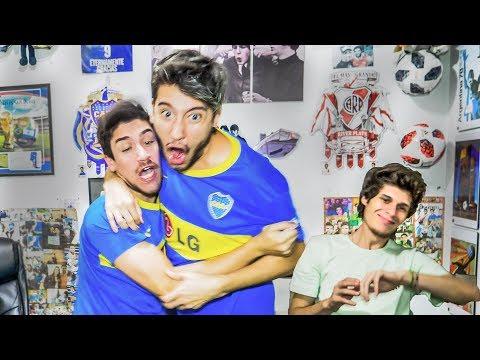 Racing vs Boca | Reacciones de Amigos | Torneo Argentino 2018