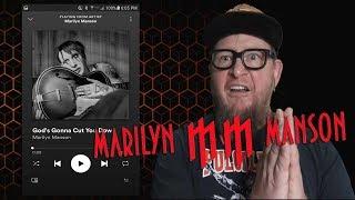 """Baixar MARILYN MANSON """"God's Gonna Cut You Down""""  (First Listen)"""