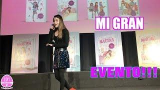 MI GRAN EVENTO EN UN TEATRO!!! LA DIVERSION DE MARTINA