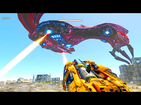 Serious Sam 3: BFE Gold Edition Alcor Class Warship Boss Fight |