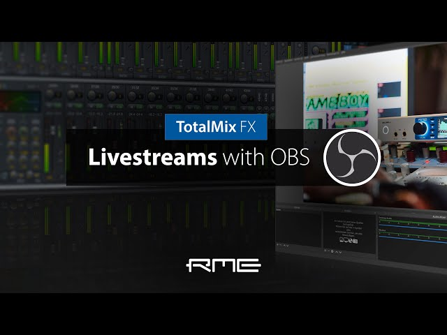 Livestreams with OBS under macOS