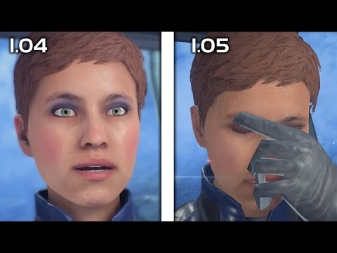 "Mass Effect Aandromeda - Foster Addison ""My Face Is Tired"" Patch 1.05 Comparison"