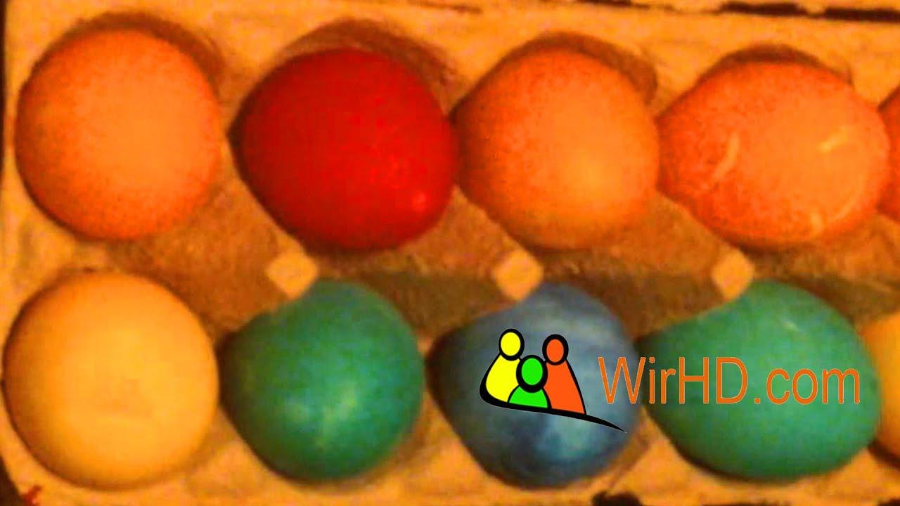 eier f rben ostereier bemalen coloring easter eggs eier. Black Bedroom Furniture Sets. Home Design Ideas