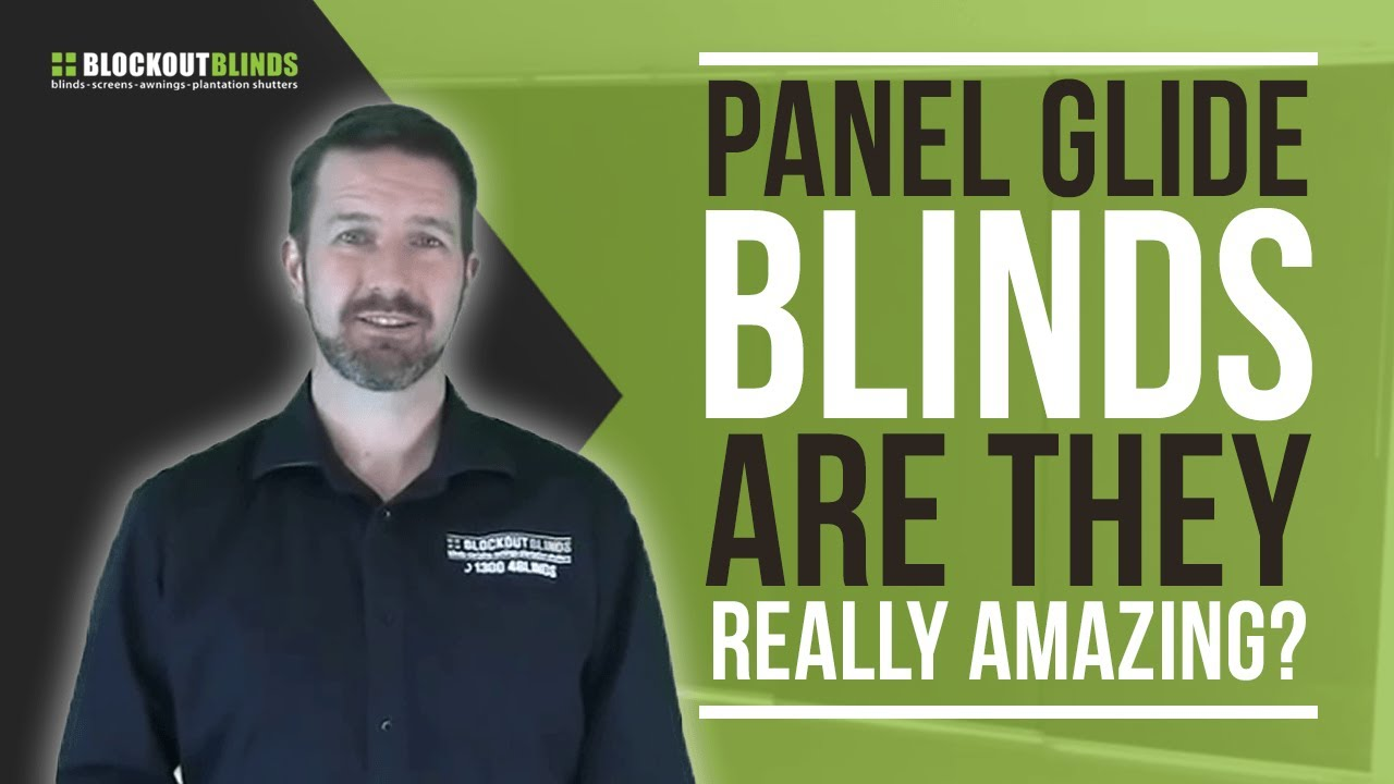 Panel Glide Blinds Give Your Sliding