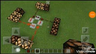 Tutorial :Cara Membuat Lampu Kelap kelip di Minecraft.