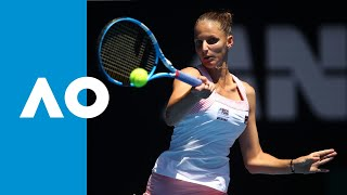 Serena Williams v Karolina Pliskova first set highlights (QF) | Australian Open 2019