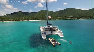 Paradigm Shift - 50'  Crewed Luxury Sailing Charter Catamaran