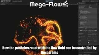 MegaFlow - Create Flow from Splines