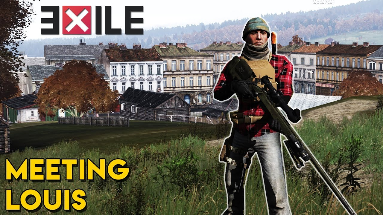 Meeting Louis - Arma 3 Exile DayZ Role Play Ep  1