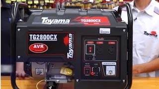Toyama - Gerador de Energia à Gasolina TG2800CX