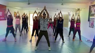 Full body stretching, cool down by Suresh fitness Centre army complex Nerul East Navi Mumbai