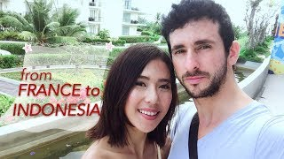 FIRST MEET AFTER 7 YEARS! | FRANCE to INDONESIA