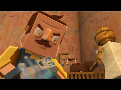 Minecraft | Hello Neighbor - HIS SECRET DEAD BABY! (Hello Neighbor in Minecraft)