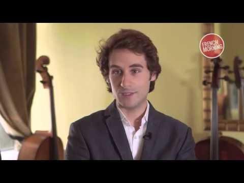 Le violoniste Virgil Boutellis-Taft, jamais sans son violon