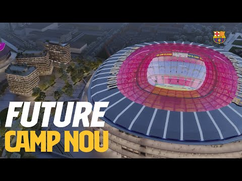 The NEW CAMP NOU (OFFICIAL)