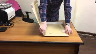 Как собрать коробку для пиццы(Не знаете как собрать коробку для пиццы? Посмотрите эту видео-инструкцию. Подробнее о коробках для пиццы..., 2015-01-21T10:45:17.000Z)
