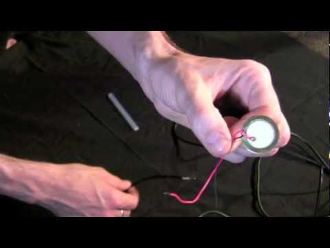 How to make your own Contact Mic (no solder)