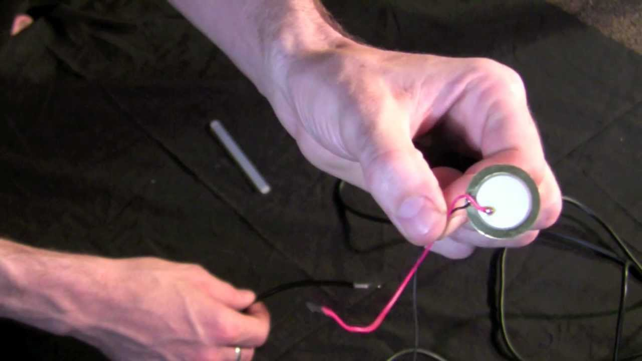 How To Make Your Own Contact Mic No Solder Youtube Using Live Wire Guitar Cable Diagram