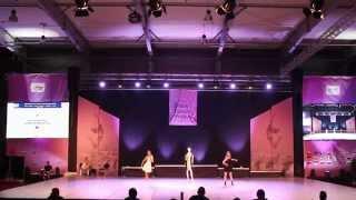 YULDANCE duet 3rd place IDO World Championships Prague 2014