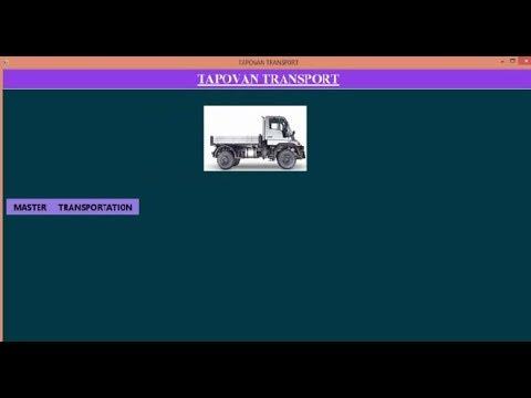 c# projects | Transport Management System | Desktop App | C# | Part-1