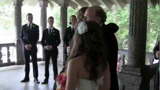 """Marry me"" wedding ceremony- walk down the aisle"