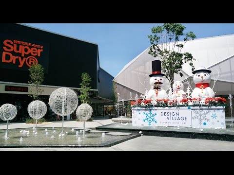 Design Village Outlet Mall in Penang