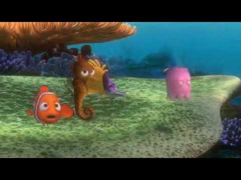 Findet Nemo, Tintenfisch, Jetz Hab I Mi Volltintet, German, Deutsch