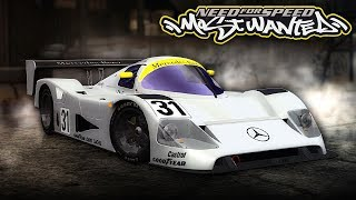 NFS Most Wanted | Mercedes C11 Mod Gameplay [1440p60]